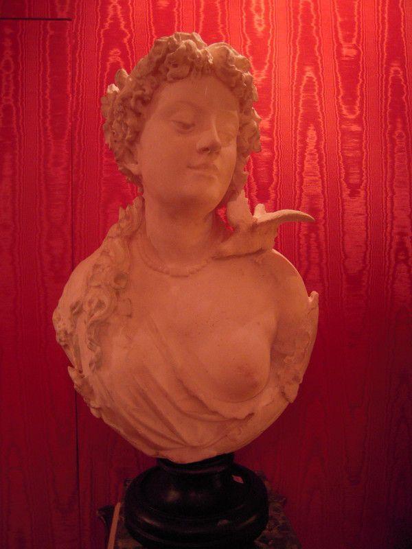 Buste en marbre poque napol on iii for Mamadou au tableau j y suis deja
