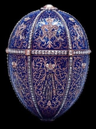 12ème Oeuf de Fabergé - Offert à Maria Federovna - 1896