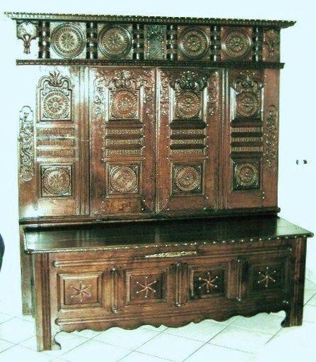 lit clos breton ferm 19 me s. Black Bedroom Furniture Sets. Home Design Ideas
